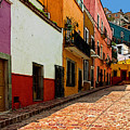Street Of Color Guanajuato 5 by Mexicolors Art Photography