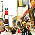 Street Of New York City by Jeelan Clark