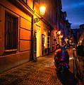 Street Of Prague by Marina Bedikyan