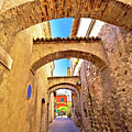 Street Of Sirmione Historic Architecture View by Brch Photography