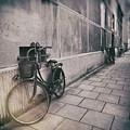 Street Photo Bicycle by Justyna JBJart