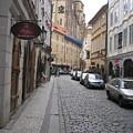 Street  Praha by Yury Bashkin
