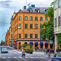 Drottninggatan Street Scene  by Barry King