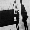 Abstract Shadows IIi Bw by David Gordon