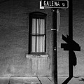 Street Sign In Butte by Dutch Bieber