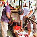 Street Vendors 1 by Jeelan Clark