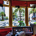Streetcar Interior New Orleans  by Chuck Kuhn