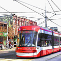 Streetcar On Spadina Avenue #17 by Alex Pyro