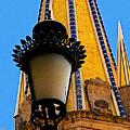 Streetlamp In Guadalajara by Mexicolors Art Photography