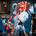 Streets And Art In Colour. by Cyril Jayant