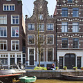 Streets And Channels Of Amsterdam by Andre Goncalves