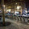 Streets At Saint-michel by Alexander Davydov