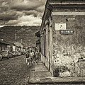 Streets Of Antigua - Guatemala by Totto Ponce