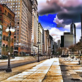 Streets Of Chicago by Kathy Tarochione