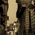 Streets Of Italy At Night 2 by Andrea Mazzocchetti