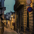 Streets Of Italy At Night by Andrea Mazzocchetti