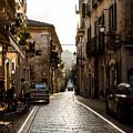 Streets Of Italy - Citta Sant Angelo 2 by Andrea Mazzocchetti