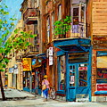 Streets Of Montreal Over 500 Prints Available By Montreal Cityscene Specialist Carole Spandau by Carole Spandau