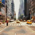 Streets Of New York by Sergey Lukashin