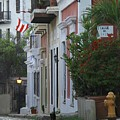 Streets Of Old San Juan by Suzanne Oesterling