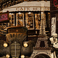 Streets Of Paris by Mindy Sommers