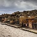 Streets Of Pompeii - 1a by Debra Martz
