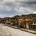 Streets Of Pompeii by Debra Martz