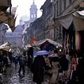 streetscene in Italy by Matthew Altenbach