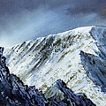 Striding Edge On Helvellin by Paul Dene Marlor