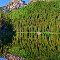 String Lake Morning Mirror by Greg Norrell