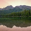 String Lake Reflections  by Michael Ver Sprill