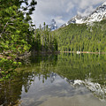 String Lake Teton Reflection by Ray Mathis