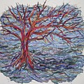 String Tree - Growing By A Thread by Sally Van Driest
