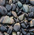 Striped Pebbles by American School