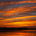 Striped Sunset by Irwin Barrett
