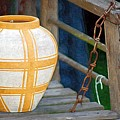 Striped Vase by Donna Bentley