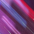 Stripes Abstract by Ken Lerner