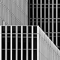 Stripes And Windows by Greetje Van Son