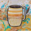 Stripped Mug by Robin Maria Pedrero