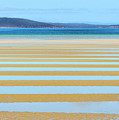 Stripy Shores by Genevieve Vallee
