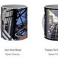 Strong As Steel Coffee Mugs by Karen Francis