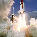 Sts-27, Space Shuttle Atlantis Launch by Science Source