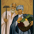 Sts. Isidore And Maria - Rliam by Br Robert Lentz OFM
