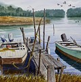 Stuart's Dock  by Raymond Edmonds