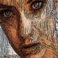 Studio Portrait In Pencil  by Rafael Salazar