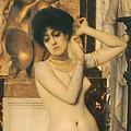 Study For Allegory Of Sculpture by Gustav Klimt