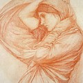 Study for Boreas by John William Waterhouse
