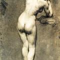 Study For Mademoiselle Rose by Eugene Delacroix