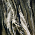 Study In Brown Abstract Sands by Rikk Flohr