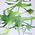 Study In Green by Carol Veiga